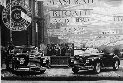 Salon auto Paris 1947