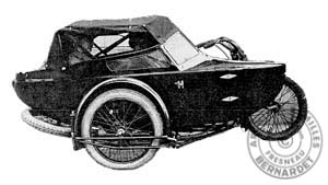 side-car biplace 1925