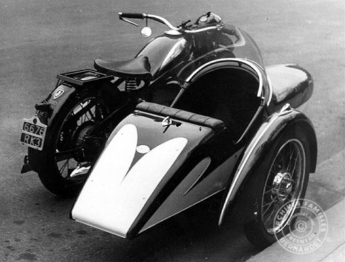 side-car grand sport et zundapp